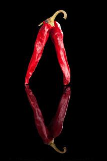 Luxurious chili pepper.