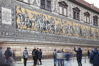 Procession of Princes, Dresden, Saxony, Germany, Europe