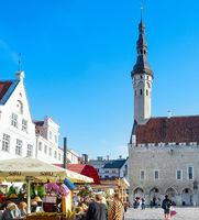 Oldtown central square Tallinn