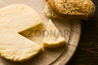 french cheese on cutting board
