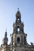 Church, Dresden, Saxony, Germany, Europe