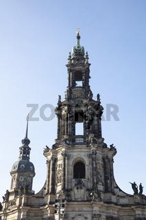 Hofkirche, Dresden, Sachsen, Deutschland, Europa