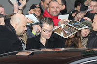 Matt Damon with fans at Berlin Film Festival