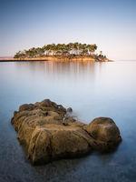 Island Rab in Croatia coast long exposure