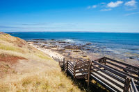 Shelley Beach on Philip Island in Australia