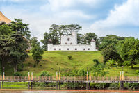 The famous  Brooke Gallery situated in the Fort Margherita in the city of Kuching, Malaysia