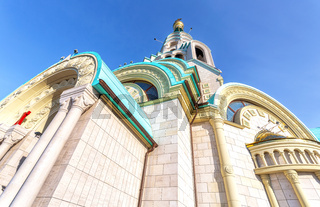 St. Sophia Cathedral of the Wisdom of God against the blue sky