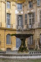 Place d'Albertas, Aix-en-Provence - Fontaine Albertas