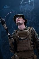 modern warfare soldier