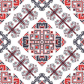 Romanian traditional pattern 177