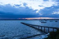 Peaceful scene at a lake