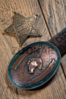 Star And Buckle