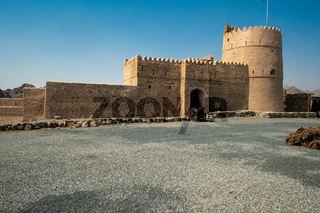 Al Hail Fort in Fujairah, UAE
