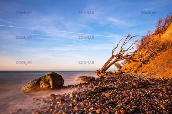 Abends an der Ostseeküste bei Wustrow