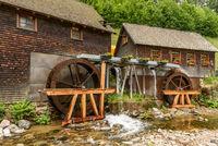 Water mill Hexenloch Mill near Furtwangen in the Black Forest, Baden-Wuerttemberg, Germany