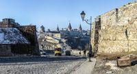 City gate of Kamianets-Podilskyi, Ukraine