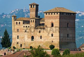 Schloss von Grinzane Cavour,Piemont, Italien