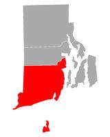 Karte von Washington in Rhode Island - Map of Washington in Rhode Island