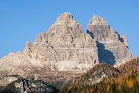 Autumn Misurina environs, Italy Dolomites