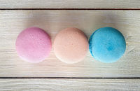 Three macaroons in a row