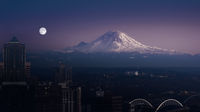 Mount Rainier Seattle USA