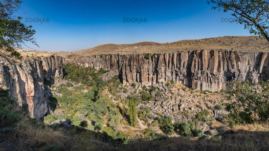 Ihlara canyon in Cappadocia, Aksaray, Turkey.