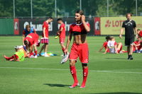 Trainingsauftakt beim Fußball-Bundesligisten SC Freiburg