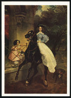 Karl Briullov The Rider