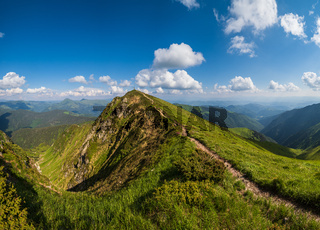 Marmaros Pip Ivan Mountain top, Carpathian, Ukraine.