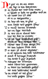 Dietrich's Flight, Middle High German heroic epic poem, Rabenschlacht, Raven Battle, 13th Century,
