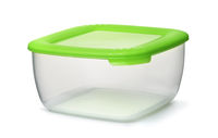 Reusable plastic food container