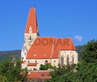 Weissenkirchen in der Wachau Kirche - Weissenkirchen in Wachau church 01