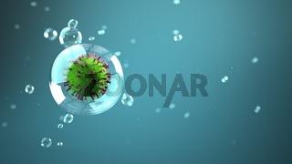 Droplet Infection Corona Virus