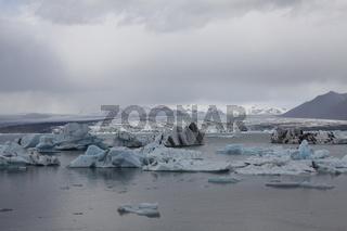 Gletschersee, Skaftafell-Nationalpark, Island