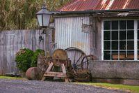 Weathered Aged Stone House