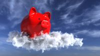 Piggy Bank In The Sky