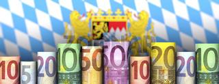 Freistaat Bayern und Geld