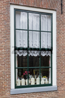 Teapots behind the windows