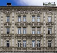 architectural detail in Passau