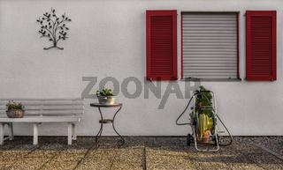Terrassenflair