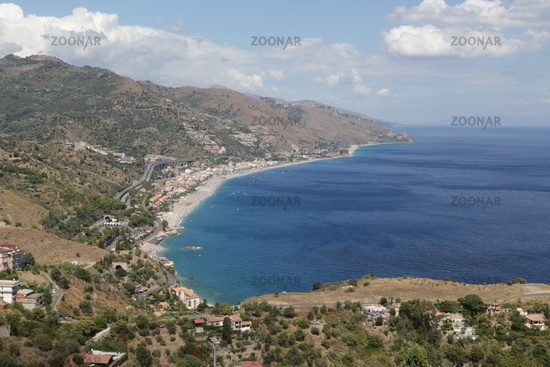 sicily the beutiful sea anf the nature