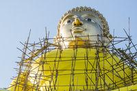 THAILAND CHIANG KHONG WAT PHUSAWAN