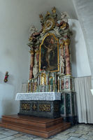 Side altar in the Hospital Church of the Holy Spirit