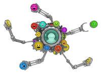 Avatar Button Emotions Assemble