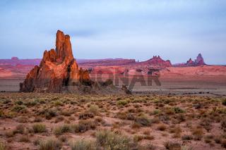 Church Rock near Kayenta Arizona