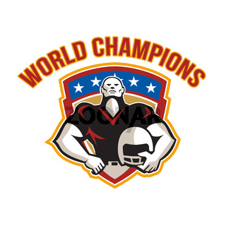 American Football World Champions Shield