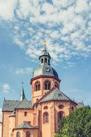 Seligenstadt Monastery in Offenbach district in Hesse