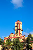 Blick auf ein historisches Gebäude in Funchal auf der Insel Madeira, Portugal