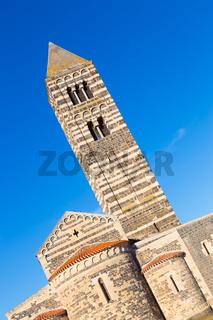 Romanesque church of Santa Trinita di Saccargia.