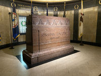Burial Site Of 16th President of the United States Abraham Lincoln
